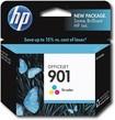 HP - 901 Tricolor Officejet Original Ink Cartridge - Cyan, Magenta, Yellow