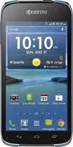 T-Mobile Prepaid - Kyocera Hydro LIFE 4G No-Contract Cell Phone - Black