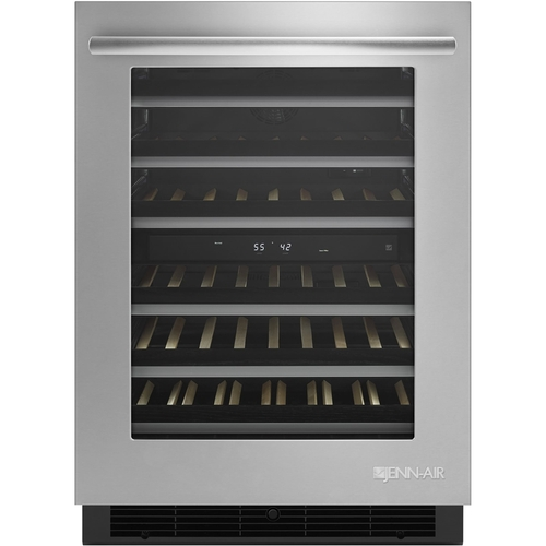 Jenn-Air - 46-Bottle Built-In Wine Cooler - Stainless steel at Pacific Sales  sc 1 st  Pacific Sales & Jenn-Air - 46-Bottle Built-In Wine Cooler - Stainless steel at ...