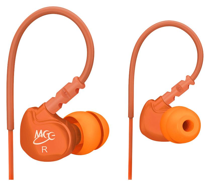 MEElectronics - M6 Earbud Headphones - Orange