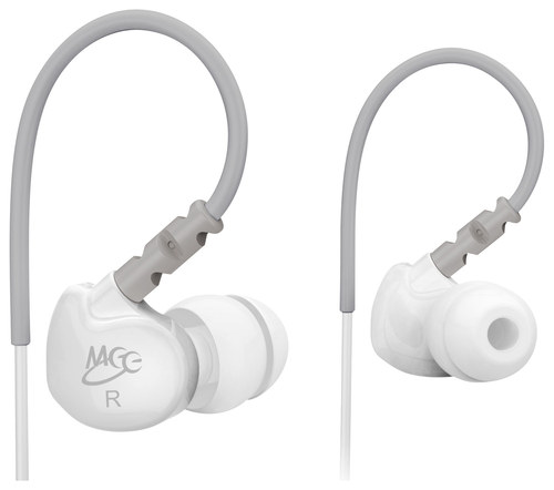 MEElectronics - M6 Earbud Headphones - White