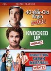 The 40-year-old Virgin/knocked Up/forgetting Sarah Marshall [3 Discs] (dvd) 8847234