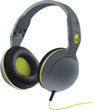 Skullcandy - Hesh 2 Over-the-Ear Headphones - Gray/Hot Lime