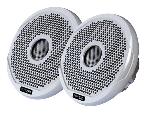 Fusion - 6 2-Way Outdoor Speakers (Pair) - Black