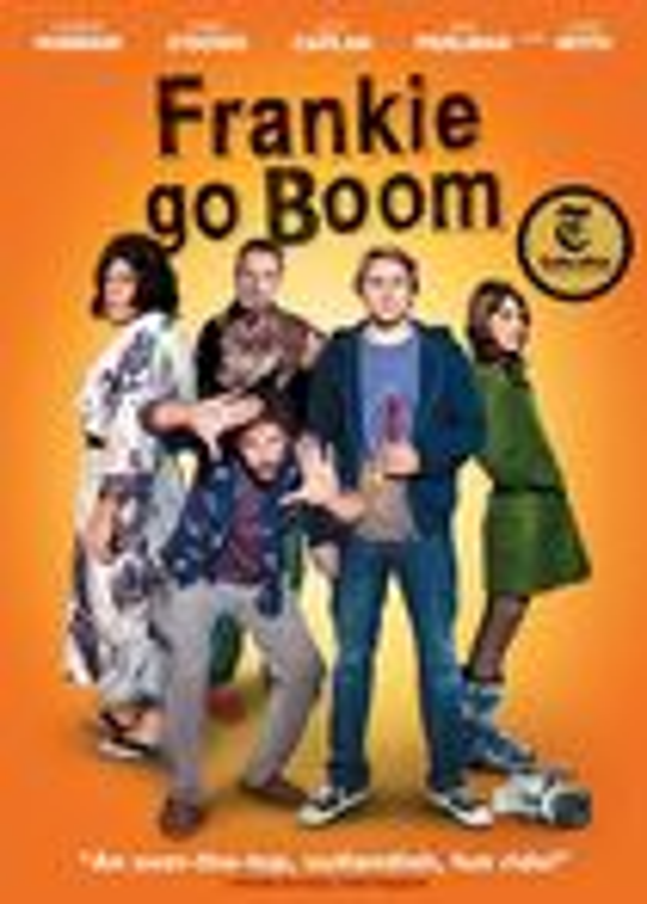 Frankie Go Boom (dvd) 8848524