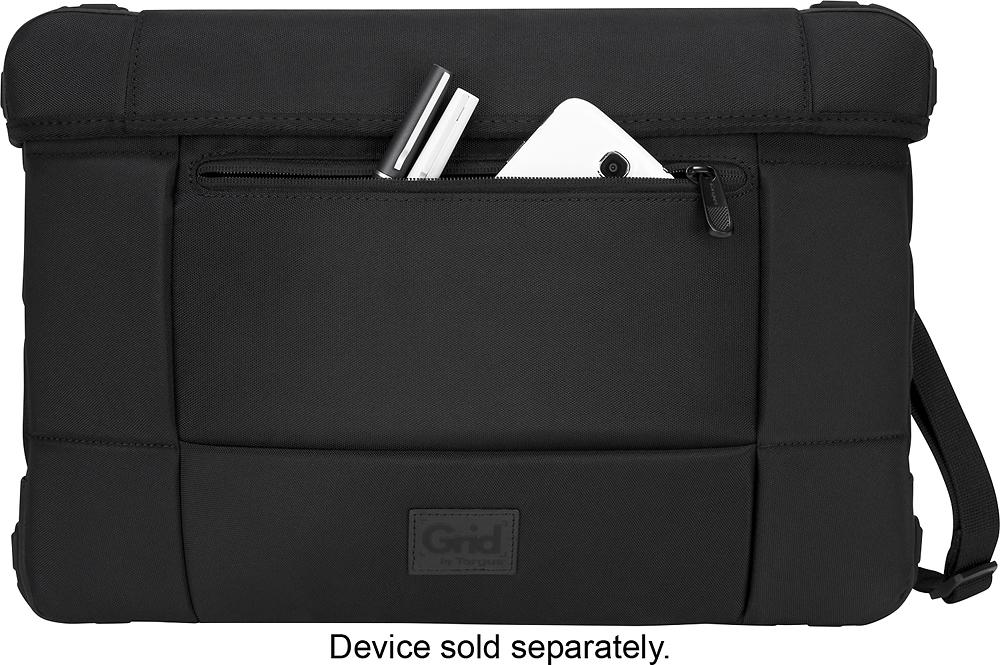 "Targus - GRID Slipcase for 15"" Apple® MacBook Air® - Black"