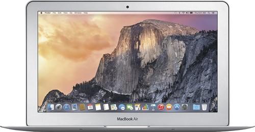 Apple - Geek Squad Certified Refurbished MacBook Air® 11.6 Display Intel Core i5 4GB Memory 128GB Flash Storage - Silver