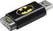 Emtec - C600 Batman 8GB USB 2.0 Flash Drive - Black