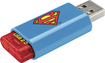 Emtec - C600 Superman 8GB USB 2.0 Flash Drive - Black
