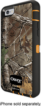 OtterBox - Real Tree Defender Series Case for Apple® iPhone® 6 - Black/Orange