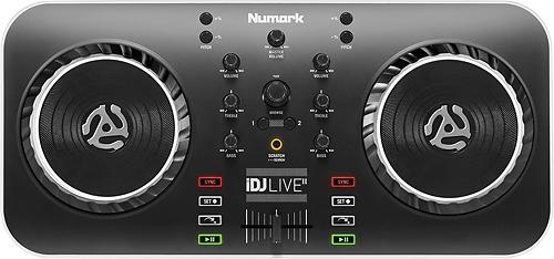 Numark - iDJ Live II 2-Channel DJ Controller - Black