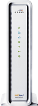 Motorola - SURFboard eXtreme 802.11ac DOCSIS 3.0 Cable Modem and 4-Port Gigabit Ethernet Router - White