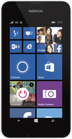 Nokia - Nokia Lumia 530 No-Contract Cell Phone - White