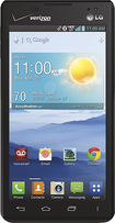 LG - Lucid 2 4G LTE Cell Phone - Black (Verizon Wireless)