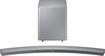 Samsung - 8.1-Channel Curved Soundbar with Subwoofer - Silver - Black