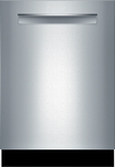 """Bosch - 300 Series 24"""" Tall Tub Built-In Dishwasher - Stainless-Steel"""