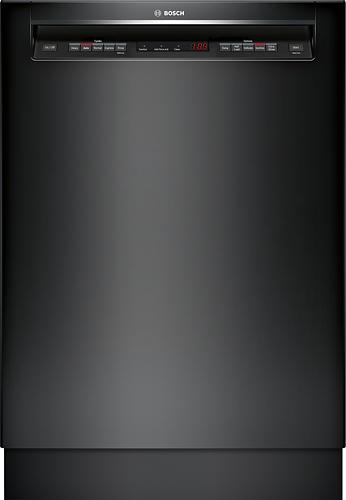 "Bosch - 500 Series 24"" Tall Tub Built-In Dishwasher - Black"