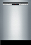 "Bosch - 800 Series 24"" Tall Tub Built-In Dishwasher - Stainless-Steel"