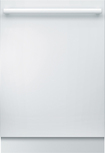 "Bosch - 800 Series 24"" Tall Tub Built-In Dishwasher - White"