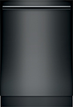 "Bosch - 800 Series 24"" Tall Tub Built-In Dishwasher - Black"