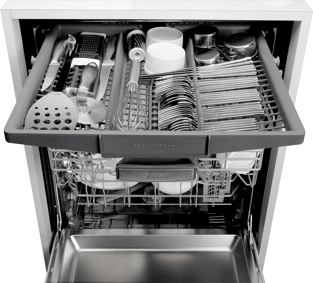 Bosch Kitchen Appliances Packages Bosch 500 Series 24 Tall Tub Built In Dishwasher Silver