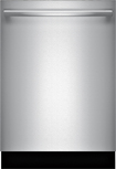 "Bosch - 500 Series 24"" Tall Tub Built-In Dishwasher - Stainless-Steel"