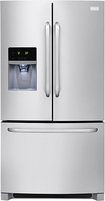 Frigidaire - 26.7 Cu. Ft. French Door Refrigerator with Thru-the-Door Ice and Water - Stainless-Steel