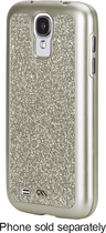Case-Mate - Glam Case for Samsung Galaxy S 4 Cell Phones - Champagne