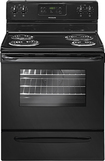 "Frigidaire - 30"" Self-Cleaning Freestanding Electric Range - Black"