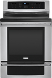 """Electrolux - 30"""" Self-Cleaning Freestanding Electric Convection Range - Stainless-Steel"""