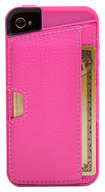 CM4 - Q Card Wallet Case for Apple® iPhone® 4 and 4S - Pink Sapphire