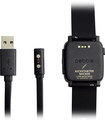 Pebble - Charging Cable For Pebble Time And Pebble Time Steel Smartwatches - Black