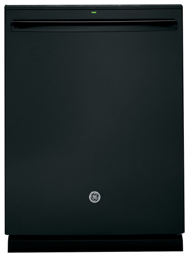 GE - Profile Series 24 Top Control Tall Tub Built-In Dishwasher with Stainless-Steel Tub - Black