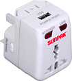 Sunpak - Universal Travel Power Adapter for Select Electronic Devices