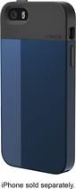 LUNATIK - FLAK Case for Apple® iPhone® 5 and 5s - Dark Blue