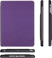 ZeroChroma - Folio-Slide Case for Apple® iPad® mini - Black/Purple