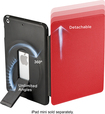 ZeroChroma - Folio-Slide Case for Apple® iPad® mini - Black/Red