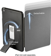 ZeroChroma - Folio-Slide Case for Apple® iPad® mini - Black/Gray