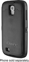OtterBox - Defender Series Case for Samsung Galaxy S 4 Mobile Phones - Black