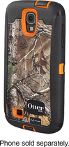 OtterBox - Defender Series Case for Samsung Galaxy S 4 Mobile Phones - Blaze Orange/Realtree Black Camo
