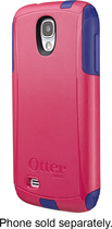 OtterBox - Commuter Series Case for Samsung Galaxy S 4 Mobile Phones - Blue/Raspberry