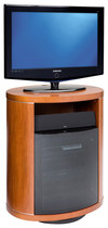 """BDI - Revo Rotating TV Stand for TVs Up to 37"""" - Cherry"""