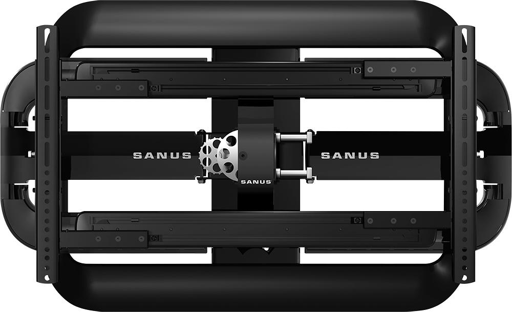 "Sanus - Full-Motion TV Wall Mount for Most 46"" - 90"" Flat-Panel TVs - Extends 31-9/10"" - Black"