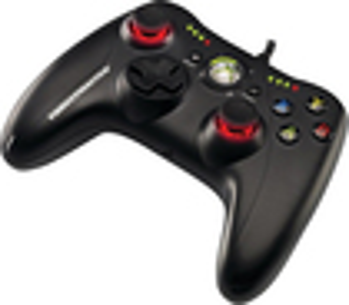 Thrustmaster - GPX LightBack Gamepad for Xbox 360 and Windows - Black