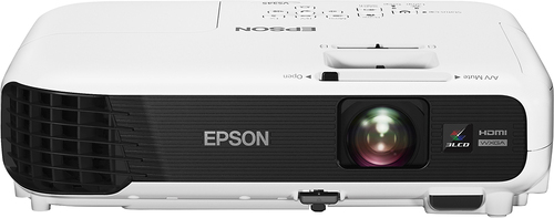 Epson - VS345 Wxga 3LCD Projector - White/Black