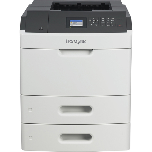 Lexmark - MS810dtn Black-and-White Printer - Gray/Black