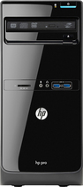HP - Pro 3500 Desktop - Intel Core i5 - 4GB Memory - 500GB Hard Drive - Black