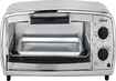 Oster - 4-Slice Toaster Oven - Stainless-Steel