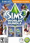 The Sims 3 Worlds Bundle - Mac/Windows