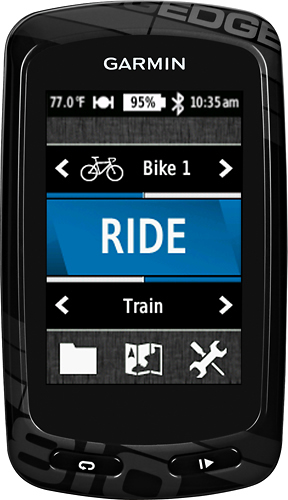 Garmin - Edge 810 2.6 GPS With Built-In Bluetooth